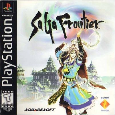Capa de SaGa Frontier